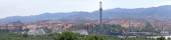 Six Flags Magic Mountain Santa Clarita